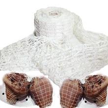 Мясная сетка для ветчины, 3 метра, рулонная мясная сетка для сосисок, хот-дог, инструменты для упаковки сосисок, инструмент для приготовления...