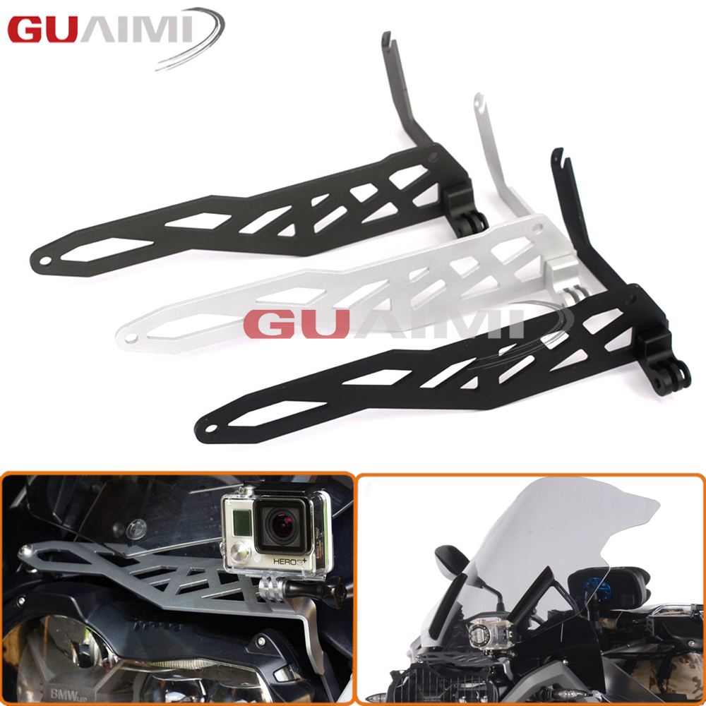 For BMW R1200GS LC 2013-2016, R1200GS LC Adventure 2014-2016 Motorcycle Sports/Camera/VCR Mount Bracket Cam Rack Indicator