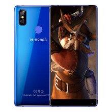Оригинальный M-HORSE чисто 2 смартфон 4 г Phablet 5.99 дюймов Android 7.0 MTK6750 Octa core 4 ГБ и 64 ГБ двойной сзади камеры мобильного телефона