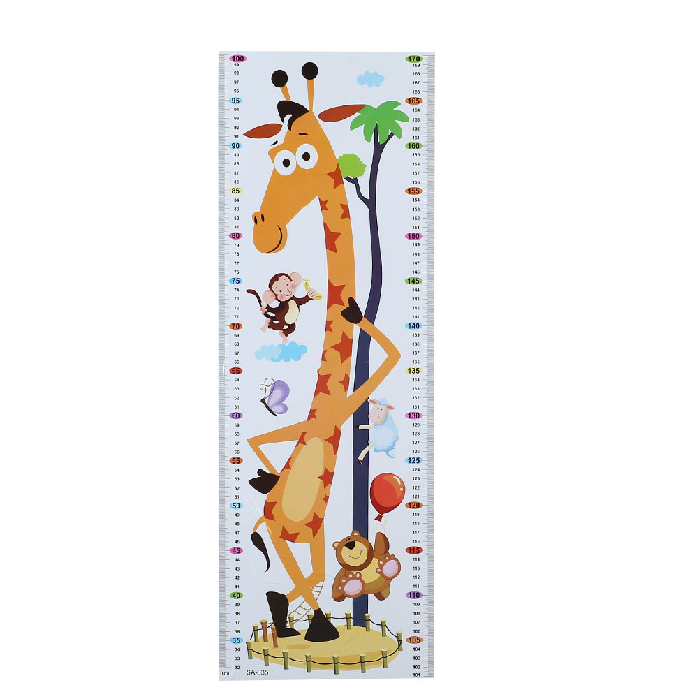 HTB13lJiaLNZWeJjSZFpq6xjBFXa8 - Cartoon PVC Kids Height Chart Wall Sticker For kids rooms