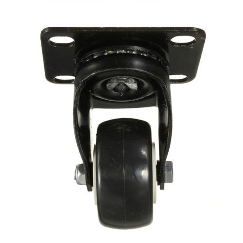CSS 4 pcs Heavy Duty 200kg 50mm Swivel Castor Wheels Trolley Furniture Caster Rubber