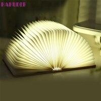 High Quality Decorative Table Wall Art Book Lamp Folding LED Night Light