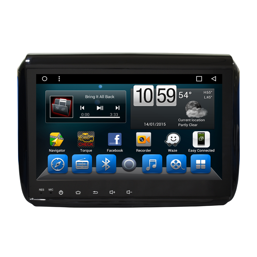Navirider car dvd player for <font><b>Peugeot</b></font> <font><b>208</b></font> 2008 octa core <font><b>android</b></font> 8.1.0 car gps multimedia head unit stereo tape recorder image