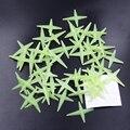 50 unids Estrella Brillante Fluorescente Pegatinas Luminosas Para El Festival De Navidad De Almacenamiento Decoración Del Dormitorio Del Bebé Juguetes de Los Niños
