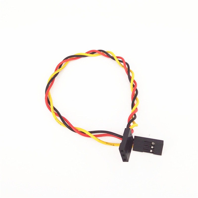 50pcs/lot 3P Double Head DuPont Line Length 20CM Jumper Wire Spacing 2.54mm For Arduino