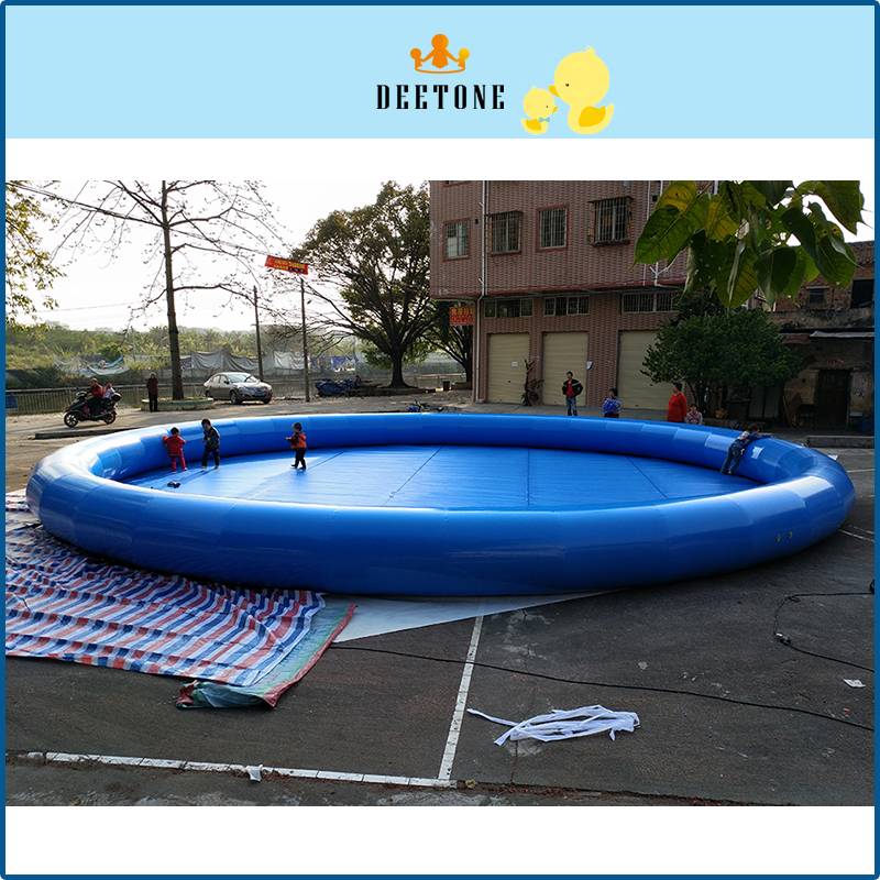 12M*1M High Quality PVC Round Sand Pool Children Play Entertainment Inflatable