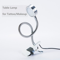 Tattoo Eyebrow Equipment 1pcs Frosted Brightness LED Desk Lamp USB 5V Table Light For Lip Eyebrow