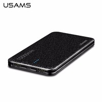 USAMS 10000MAH Portable Size External Power Bank Mobile Phone Battery Charger Charging Supply For Smartphones