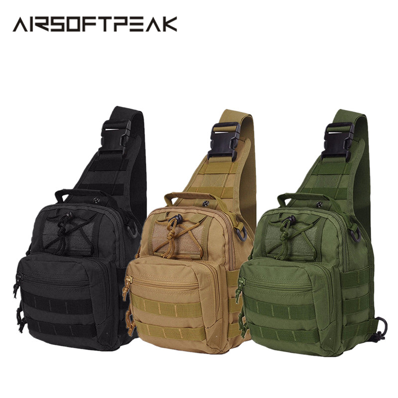 600D Military Tactical Sports Bag Shoulder Nylon Outdoor Hiking Camping Travel Trekking Utility Chest Climbing Backpack Hunting600D Military Tactical Sports Bag Shoulder Nylon Outdoor Hiking Camping Travel Trekking Utility Chest Climbing Backpack Hunting