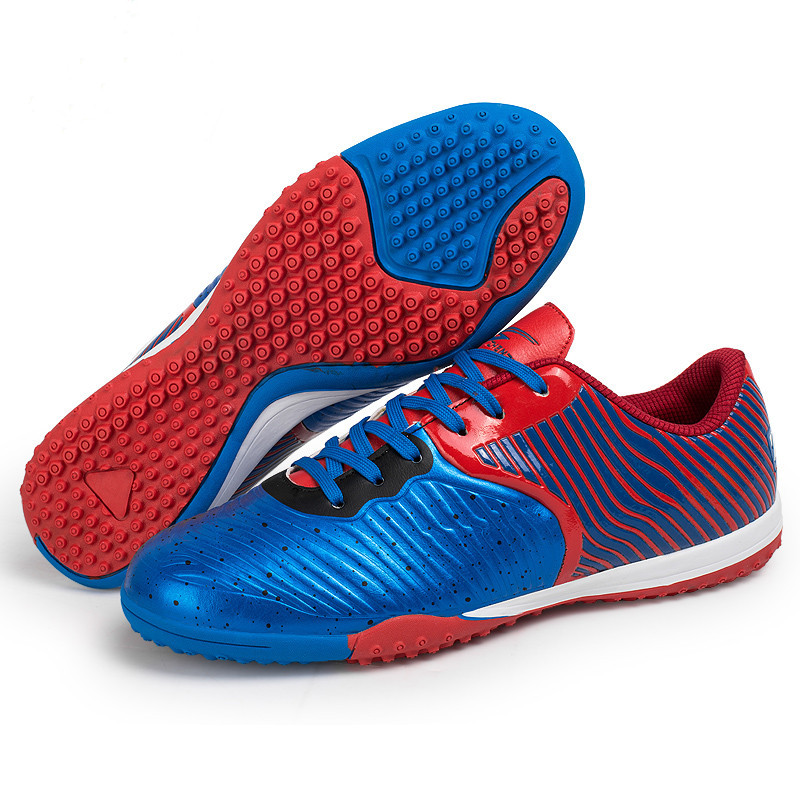 ZHENZU Indoor Football Shoes Kids Superfly Original Socce Cleats Teenagers Training AG HG TF voetbalschoenen chuteira futebol health top soccer shoes kids football boots cleats futsal shoes adult child crushed breathable sport football shoes plus 36 45