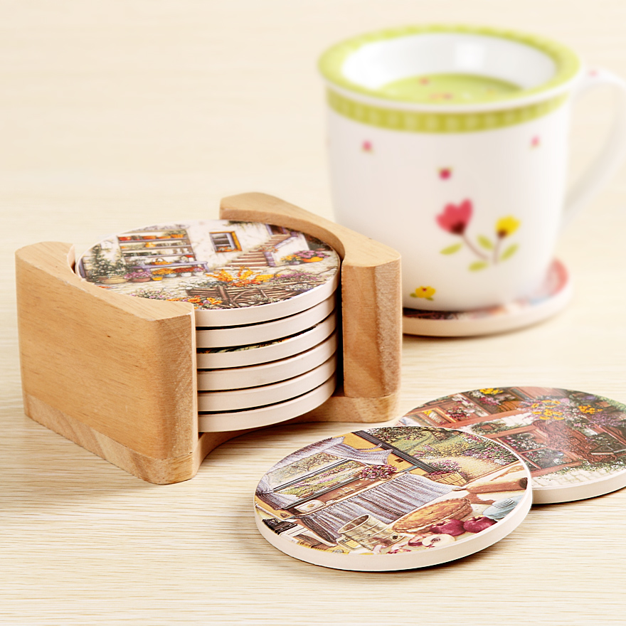 Online Buy Wholesale Cork Backed Coasters From China Cork