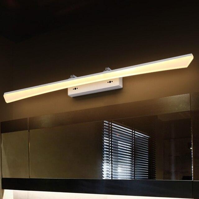 US $36.54 13% OFF|Wand lampe badezimmer led spiegel licht Wasserdicht 7 W  20 W AC100 240V LED Moderne Wand lampe kosmetische acryl Indoor leuchte ...