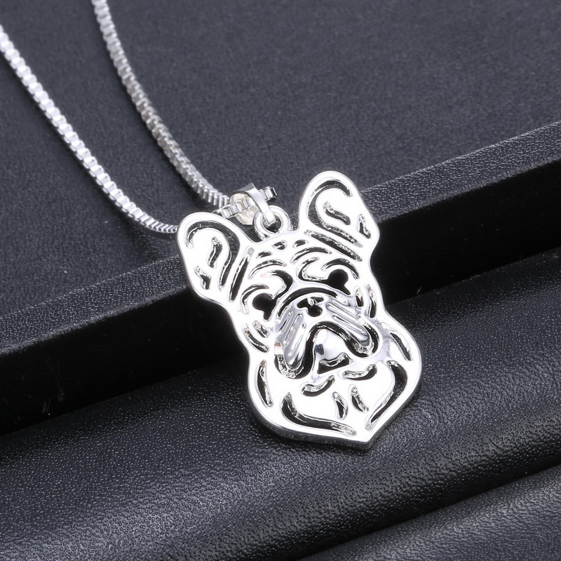 Newest Unique Handmade FRENCH BULLDOG Pendant Necklace Dog Jewelry Pet Lovers best Gift jewelry