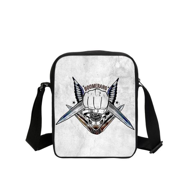Suicide Squad Messenger Bags Joker Harley Quinn Rotten