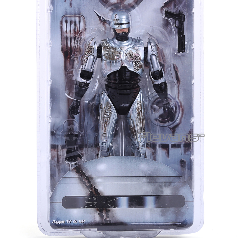 NECA 7 RoboCop 2 Murphy Battle Damaged PVC Action Figure Collectible Model Toy MVFG298 neca heroes of the storm tyrael pvc action figure collectible model toy 7 18cm