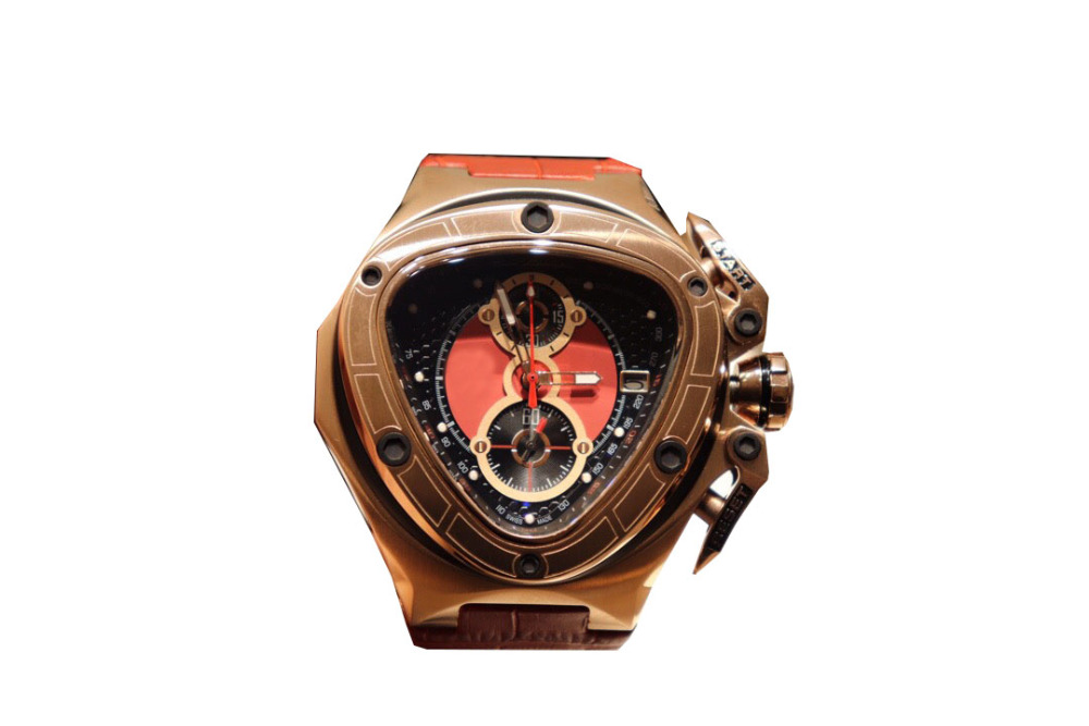 Man Watch Triangle Sport Men's Wristwatch Clock Leather Waterproof Quartz Mens Watches Top Brand Luxury Chronograph Man Watch