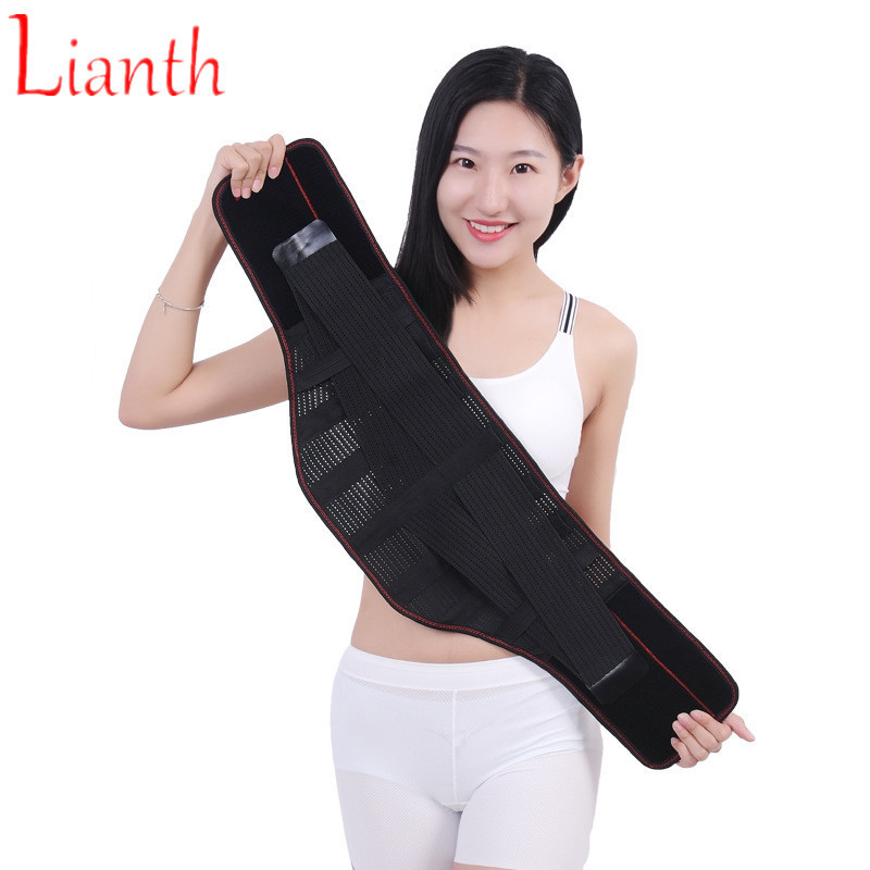 Breathable Self-heating Back Brace Bandage Steel Plate Brace Belt Lumbar Disc Spine Protection Band For Man And Woman T292OLCBreathable Self-heating Back Brace Bandage Steel Plate Brace Belt Lumbar Disc Spine Protection Band For Man And Woman T292OLC