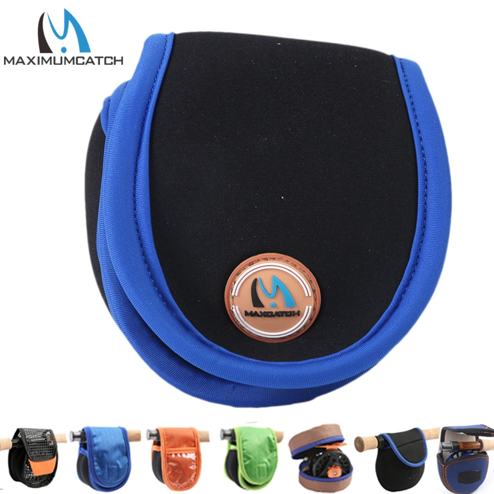 Maximumcatch Neoprene Fly Reel Bag Protective Fly Reel Pouch Covers 3-8WT fashionable handbag style protective neoprene pouch bag for ipad mini deep pink
