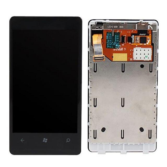מקורי עבור Nokia Lumia 800 LCD תצוגה עם מסך מגע Digitizer עצרת עם מסגרת משלוח חינם