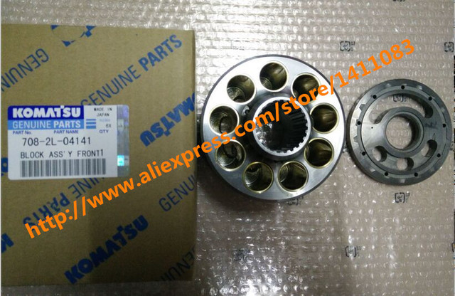 US $280 0 |genuine and high copy excavator hydraulic pump parts cylinder  block 708 2L 04141 for komatsu on Aliexpress com | Alibaba Group