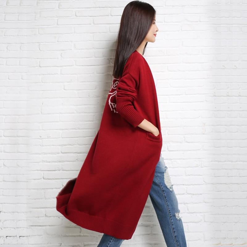 adohon 2018 дамски зимни пуловери от - Дамски дрехи - Снимка 3