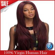 2016 New Pelucas Silk Top Virgin Brazilian Hair Glueless Full Wig & Lace Front Human Wigs For Black Women Stock Free Shipping