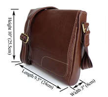 Real Leather Factory Price Sling Bag Shoulder Messenger Bag # 6030