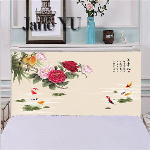 JaneYU All inclusive bed head cover bed cover dust cover 1 5m1 8m simple modern leather bed soft bag fabric protective cover in Bedspread from Home Garden