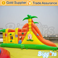 Jungle Cheap Small Inflatable Obstacle Course for Sale