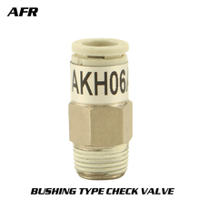 купить SMC type connector series Bushing type check valve AKB04B-M5 AKB04B-01 AKB06B-M5 AKB06B-01 AKB06B-02 по цене 651.31 рублей