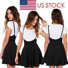 Summer arrival Women Ladies Mini Skirt Preppy Style High Waist Pure Color Stretc