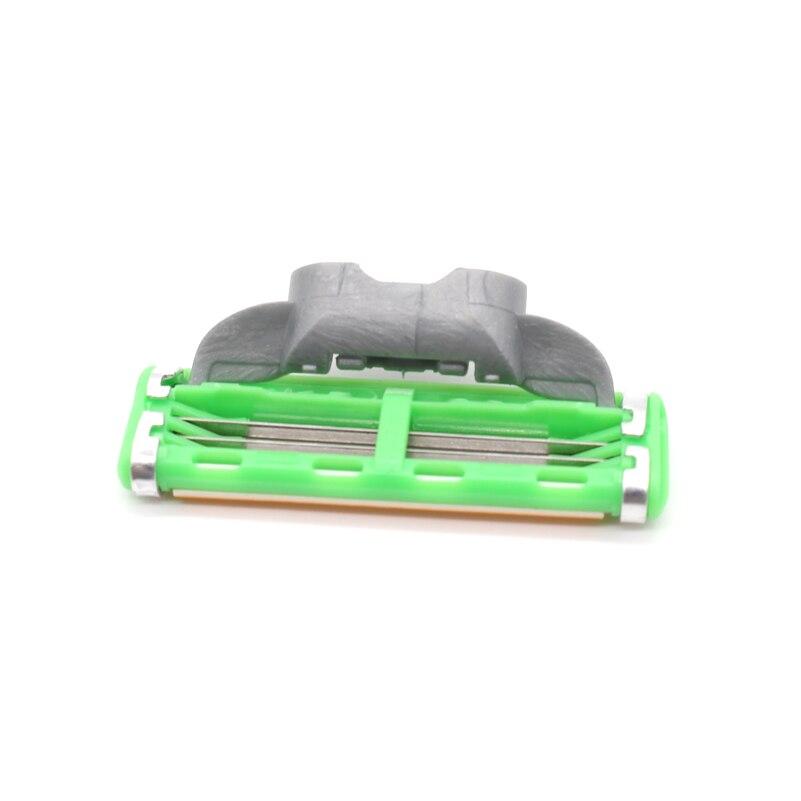 8pcs / set 3 ülgüc bıçaqları Standard RU Trimmer Təraş Ülgüc - Təraş və saç aradan qaldırılması - Fotoqrafiya 6