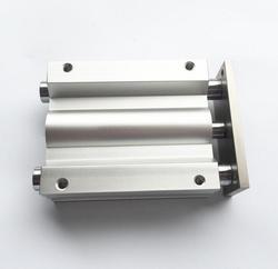 Rozmiar otworu 40mm * 40mm skoku typu SMC mig serii przesuwne łożyska cylindra