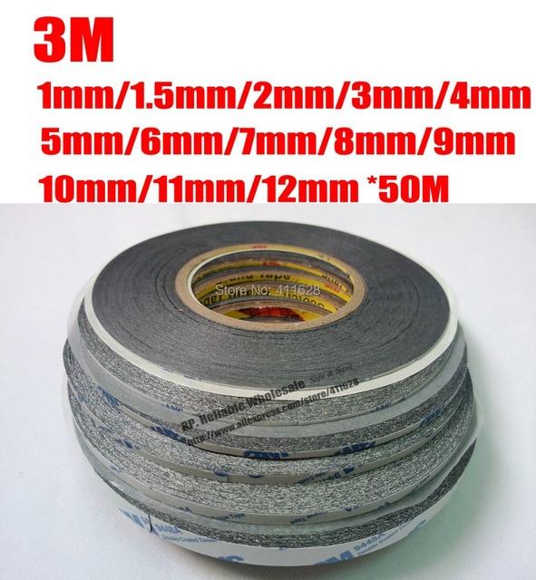 ¡Super Pack! 13 rollos ampliamente utilizados para iphone Samsung teléfono tableta pantalla táctil bisel lente reparación adhesivo negro pegatina