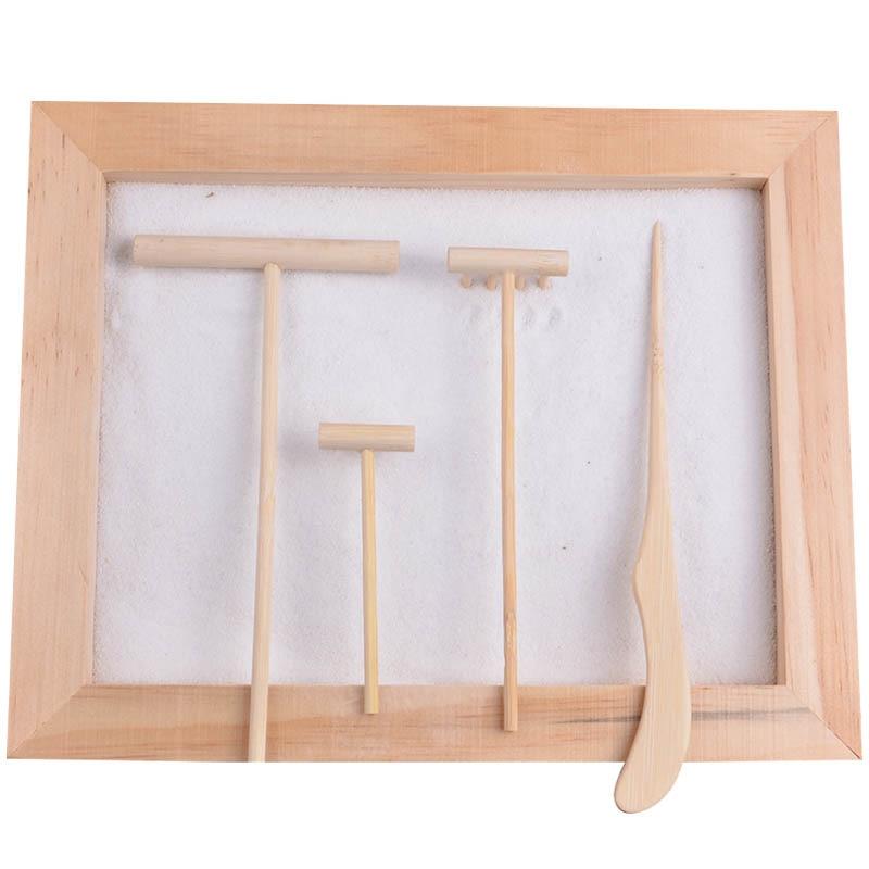 unidades zen herramienta de jardn rastrillo de bamb accesorios folk fengshui arte arte de la