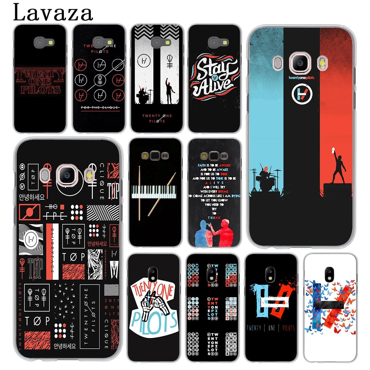 huge discount 0ec30 dc7ee Lavaza Twenty One Pilots 21 Pilots band Hard Phone Case for Samsung ...