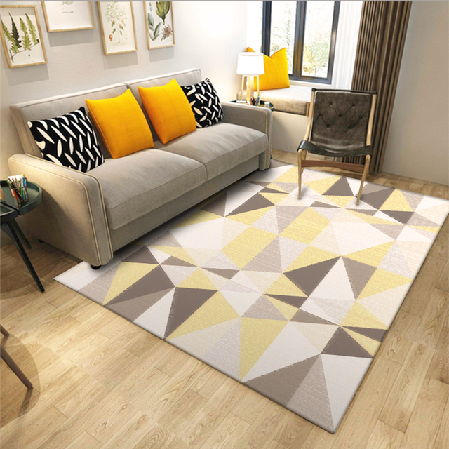 Fashion Modern Scandinavian Geometric Traingle Nordic Style Door Mat Bathroom Parlor Living Room Home Decorative Carpet & Fashion Modern Scandinavian Geometric Traingle Nordic Style Door Mat ...