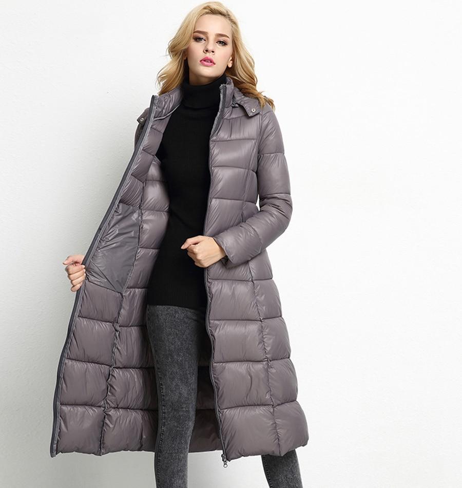 XITAO 2016 new winter Europe fashion female long sleeve slim coat casual female warm hooded