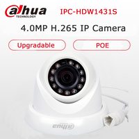 Dahua English Version IPC HDW1431S 4MP POE IP Camera Network H 265 IP Camera Indoor Dome