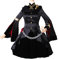 Anime! kader/Grand Sipariş Ereshkigal Lolita Elbise Üniforma Cosplay Kostüm yetiştirilen ve çorap ile Kadınlar Için stokta