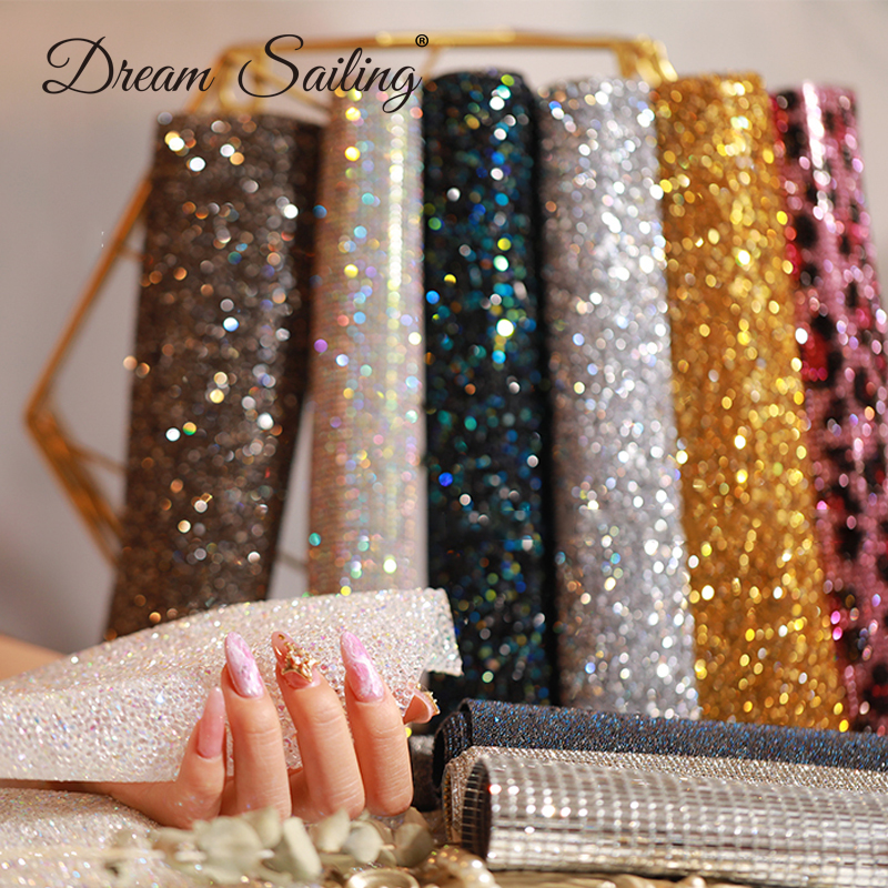 Nail Art PVC Hand Table Mat With Diamond Rhinestones Cushion Holder Pad Unwatchable Fold-able Arm Rest Manicure Tool