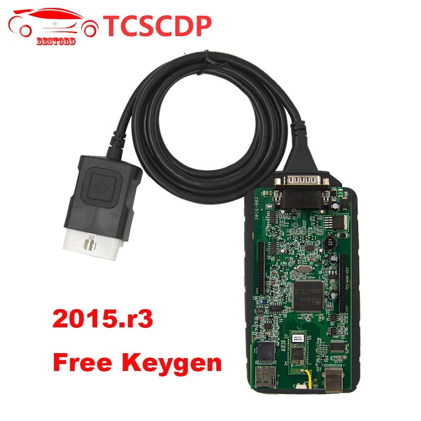 Цена за WOW OBD2 диагностический сканер с Bluetooth V5.008 R2/2014 R2/R3/2015.1 же как DS CDP Pro для грузовых и легковых автомобилей
