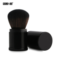 MAANGE 2017 Hot Fashion Pro Retractable Makeup Blush Brush Powder Cosmetic Adjustable Face Powder Brush Kabuki