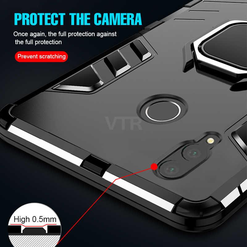 Роскошный чехол с магнитным кольцом для Huawei Honor 8x MAX, чехол для телефона Huawei P20 Pro P20 Lite, противоударный чехол с держателем