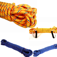 High Quality 11mmX20m Hot Selling Braided Rope Cord Outdoor Climbing Emergency Survival Nylon Mountaineering Paracord