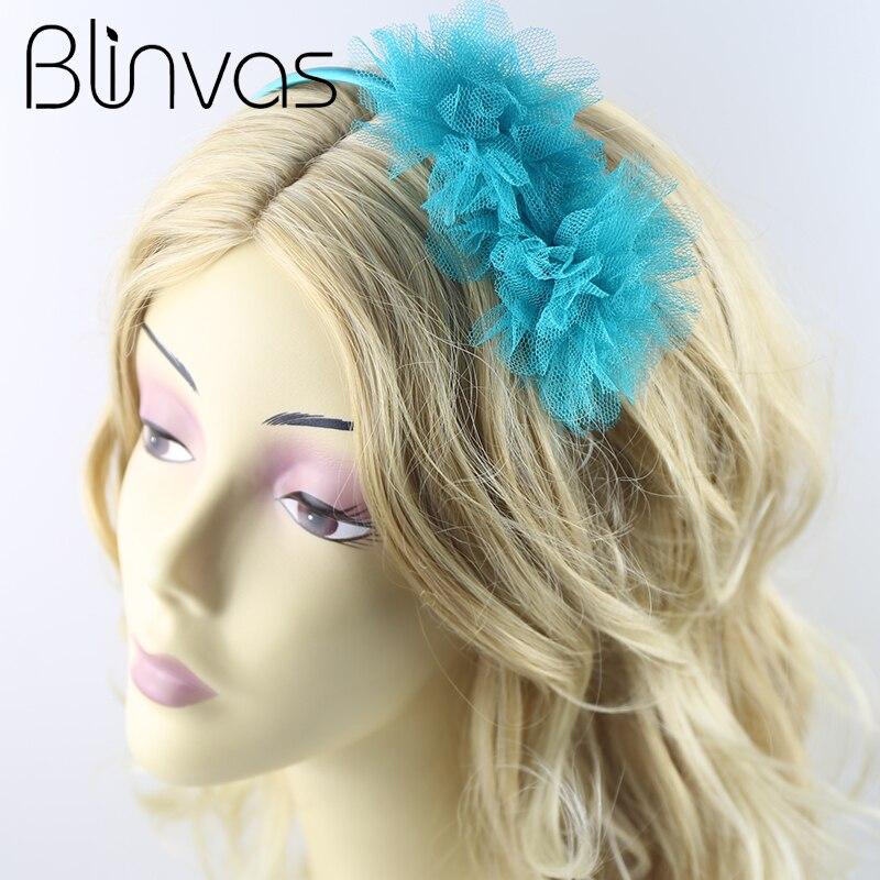 2017 New Chiffon Flowers Headband For Women And Girls ...