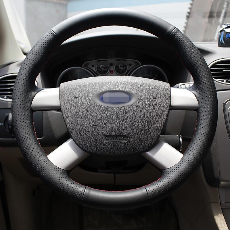 BANNIS Black жасанды былғары DIY Ford Kuga үшін - Автокөліктің ішкі керек-жарақтары - фото 4
