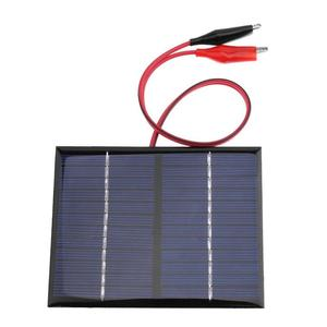Image 3 - 1.5W 12V Solar Battery Panels Cell Module Polysilicon Flexible DIY Solar Panel Power Bank Battery Charger with Clip