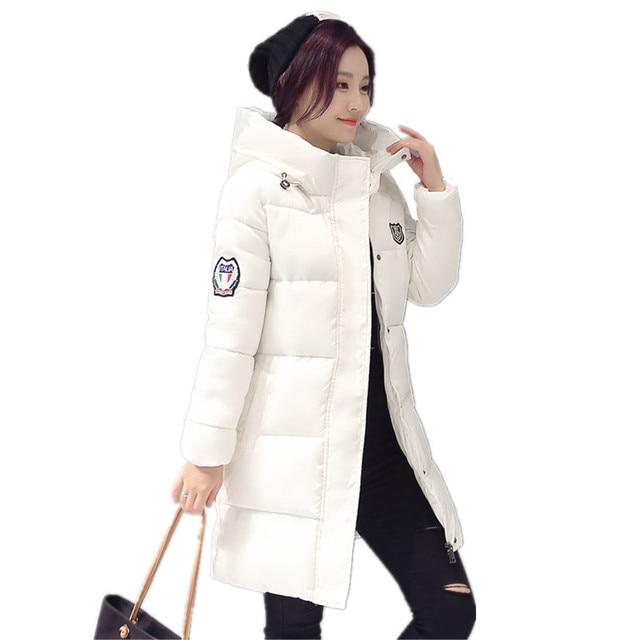 Long Parkas Female Women Winter Coat Thickening Cotton Winter Jacket Womens Outwear Parkas for Women Winter Outwear