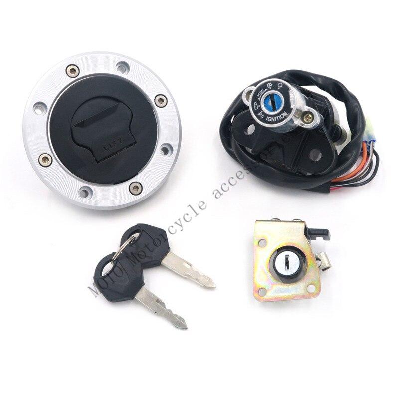 Motorbike Ignition Switch Lock Gas Key Set For Suzuki GSXR600/750 04-05 GSXR 600 GSXR 750 SV 1000S 2003-05 2006 2007 2008
